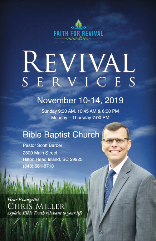 Revival Services Theme