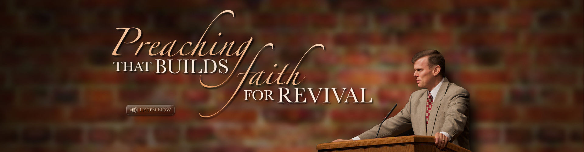 Preaching that Builds Faith For Revival