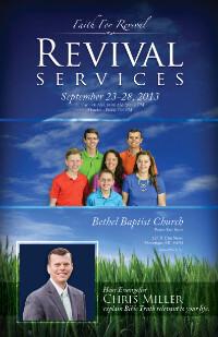 Revival Services Theme